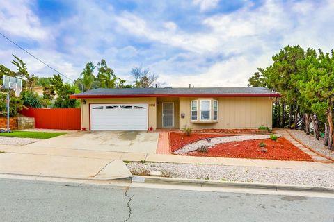 Photo of 1691 Bartram Way, El Cajon, CA 92019