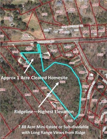 Asheville Elevation Map.Webb Cove Rd Asheville Nc 28804 Realtor Com