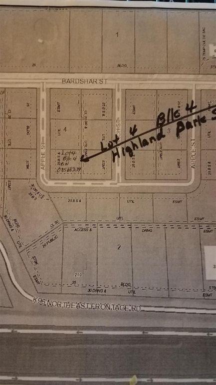 Blk 4 N Nw Apple St Unit Highland Sub Add Park Lot 4 Mount Hope, KS 67108