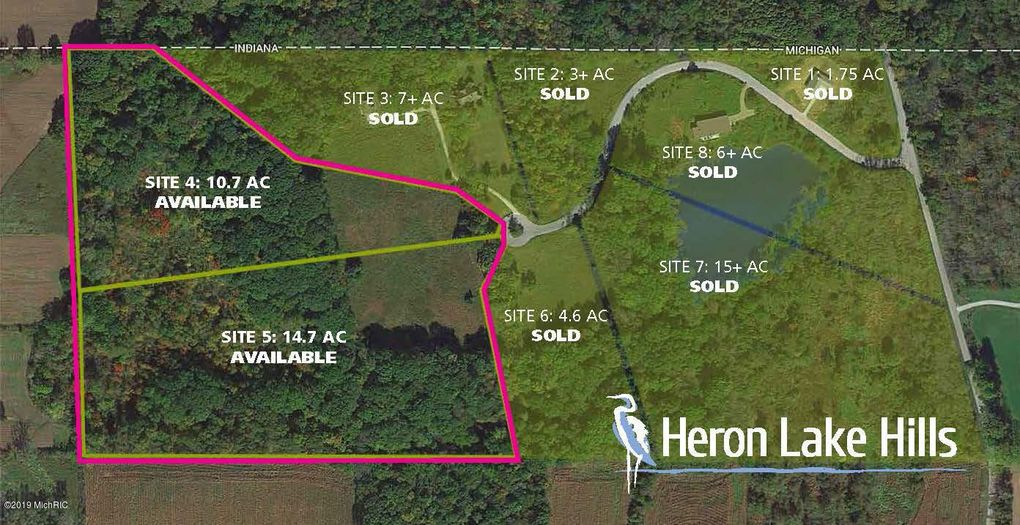 New Carlisle Indiana Map.8419 Heron Lake Hls New Carlisle In 46552 Land For Sale And Real