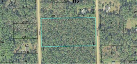 Hickory St, Bunnell, FL 32110