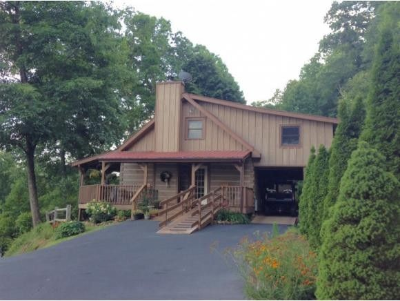 563 longview private dr mountain city tn 37683 home for Secluded mountain homes for sale