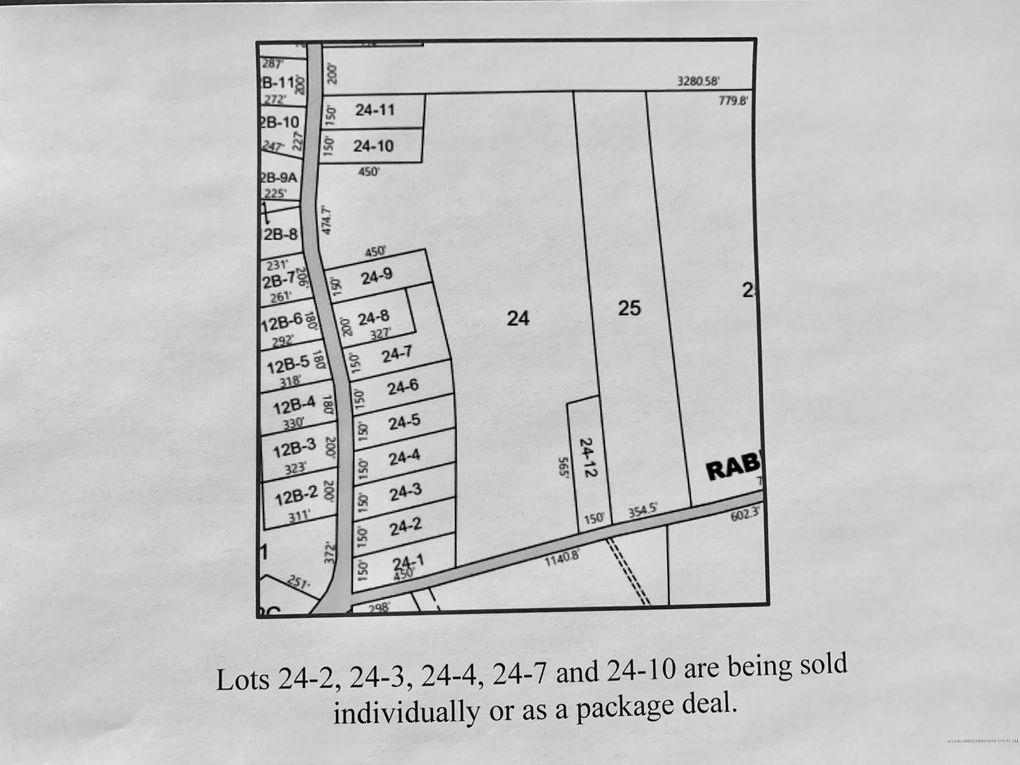 Tate Rd Lot 24-02 Corinth, ME 04427