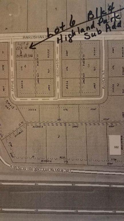 Blk 4 N Nw Apple St Unit Highland Sub Add Park Lot 6 Mount Hope, KS 67108