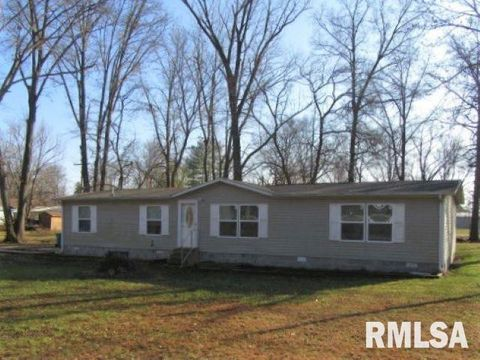 901 W 4th St, Bluford, IL 62814 Mobile Home Courts Mt Vernon I Ll on