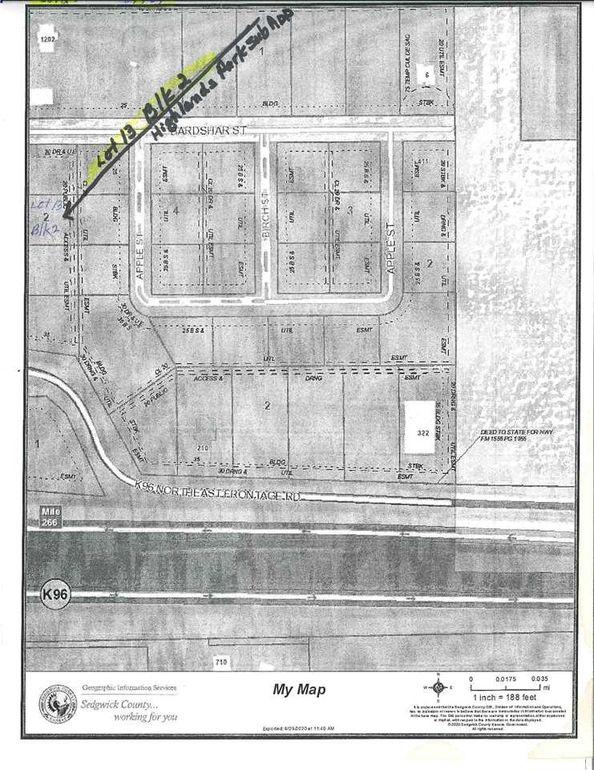 Blk 2 N 279th Unit Highland Sub Add St W Lot 13 Mount Hope, KS 67108