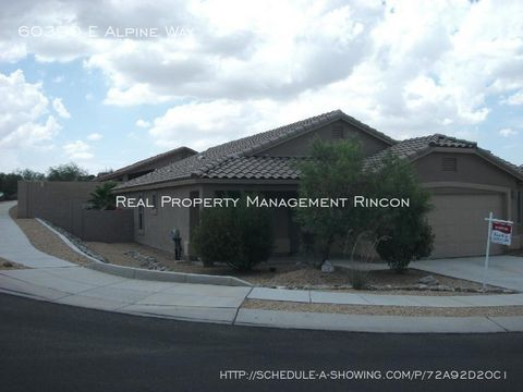 Photo of 60390 E Alpine Way, Tucson, AZ 85739