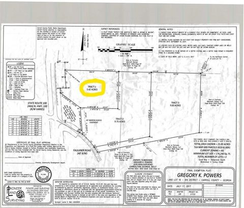 Photo of Faulkner Rd Lot 16, Waco, GA 30182