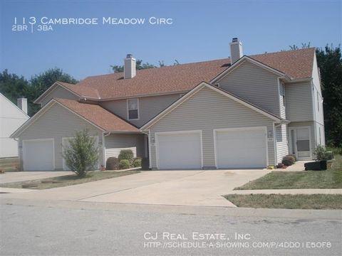 Photo of 113 Cambridge Meadows Cir, Belton, MO 64012