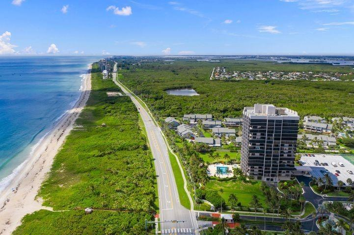 Water front featured at 5047 N Highway A1a Apt 1104, Hutchinson Island, FL 34949