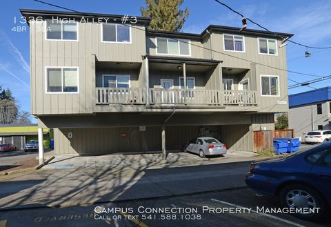 Photo of 1336 High Aly Apt 3, Eugene, OR 97401