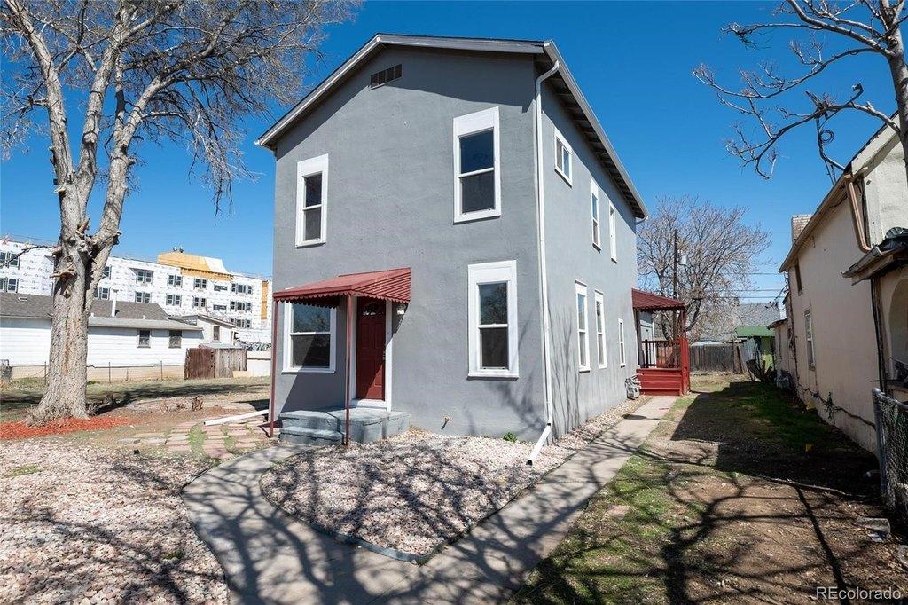 Porch yard featured at 4770 Vine St, Denver, CO 80216