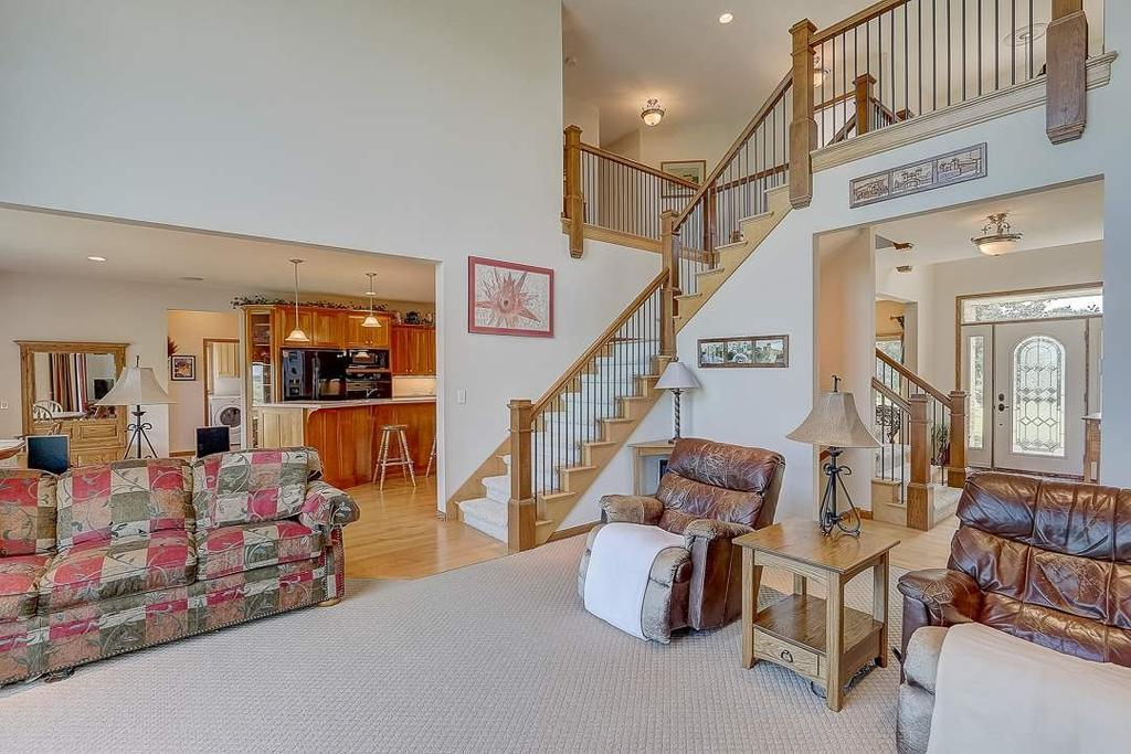 Living room featured at 3180 Happy Valley Rd, Sun Prairie, WI 53590