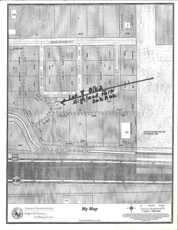 Apple Unit of Blk 2 Highland Sub Add Park Lot 8 Mount Hope, KS 67108