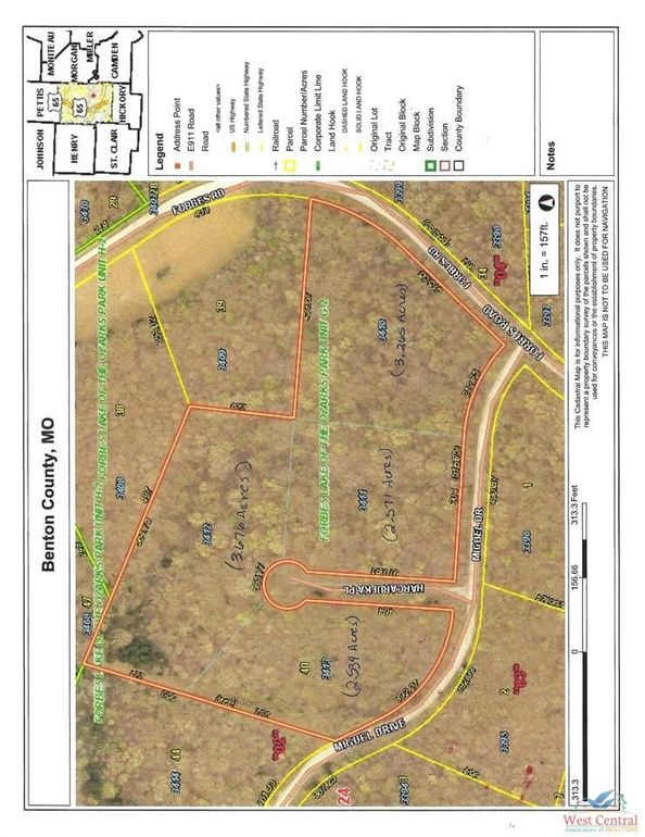 3213 Lots 3210 & 3211 and 3214 2 Forbes Rd Edwards, MO 65326