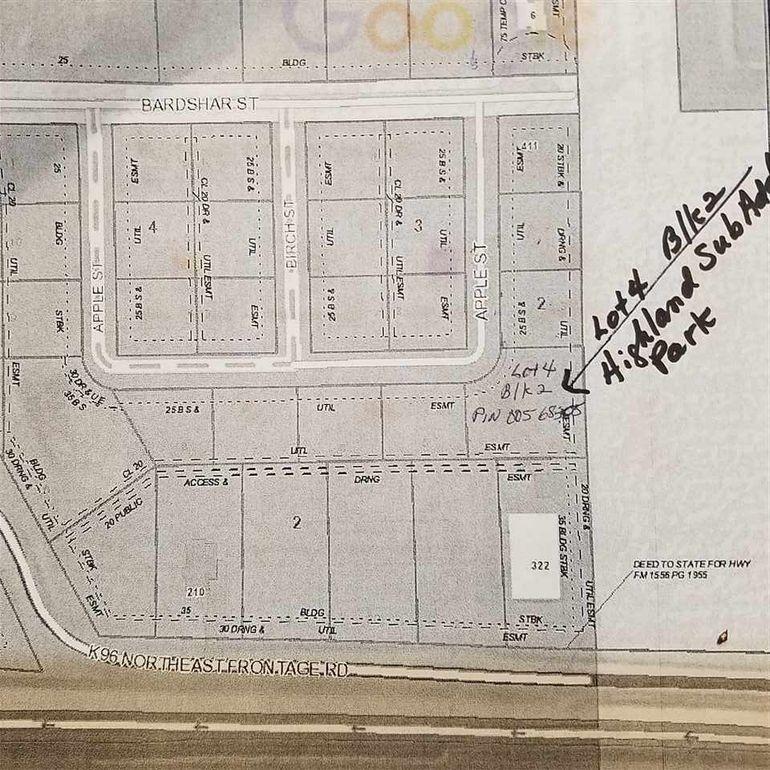 Block 2 Apple St Unit Highland Sub Add Park Lot 4 Mount Hope, KS 67108