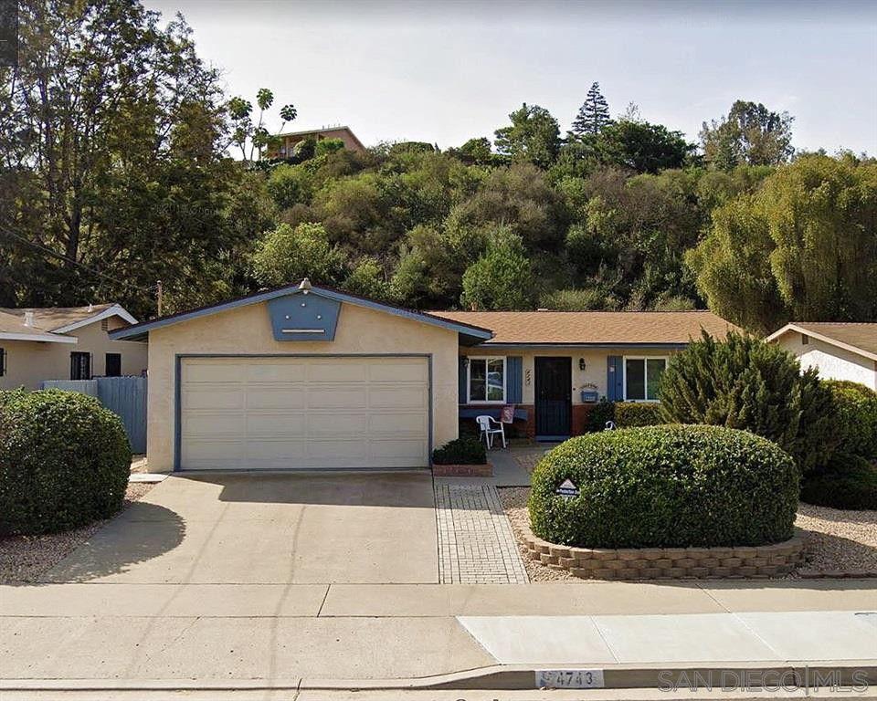 4743 Chateau Dr San Diego, CA 92117