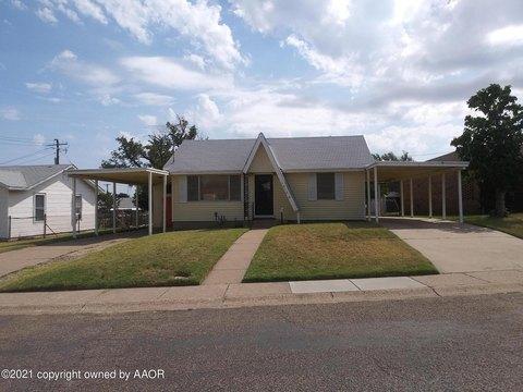 1212 Hazelwood St, Borger, TX 79007