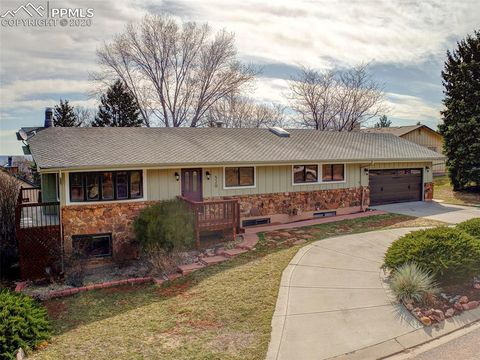 Photo of 329 Clarksley Rd, Manitou Springs, CO 80829