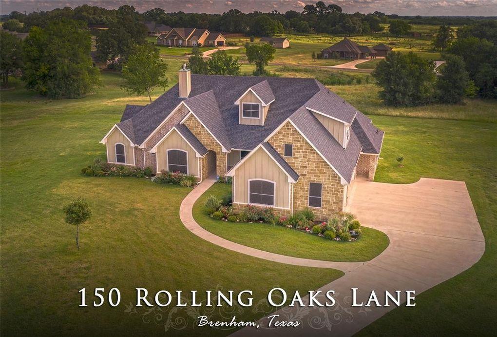 150 Rolling Oaks Ln Brenham Tx 77833 Realtor Com
