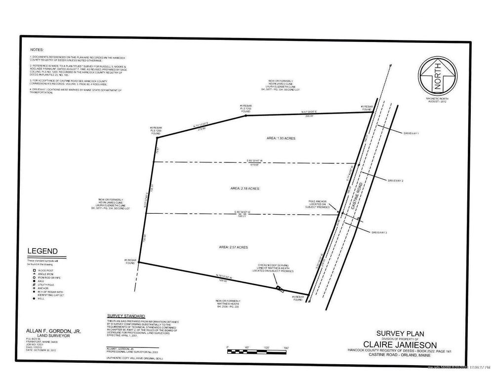 805 Castine Rd Lots 2 & 3 Orland, ME 04472